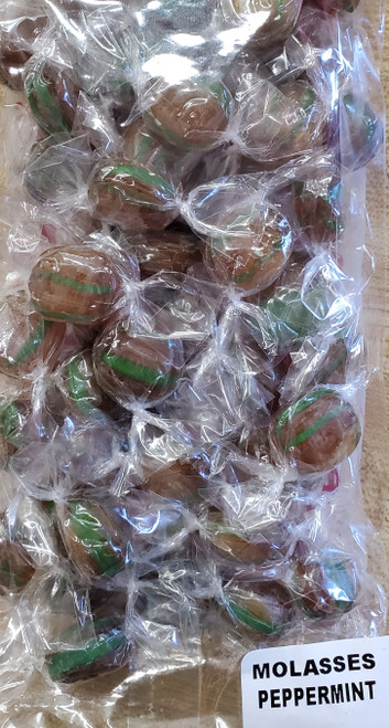 Molasses Peppermint Hard Candy
