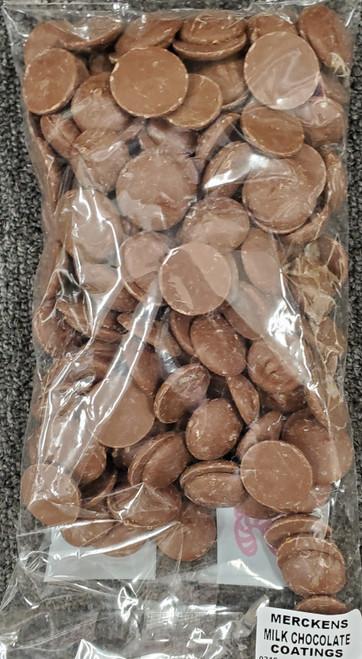 Merckens Milk Chocolate Coatings (1 lb.)