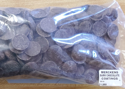 Merckens Dark Chocolate Coatings (5 lbs.)