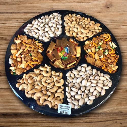 Cashews & Pistachio Tray for Thanksgiving