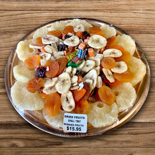 Dried Fruit Tray for Thanksgiving