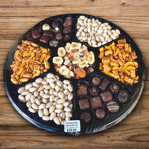 Pistachio, Chocolate & More Tray for Thanksgiving