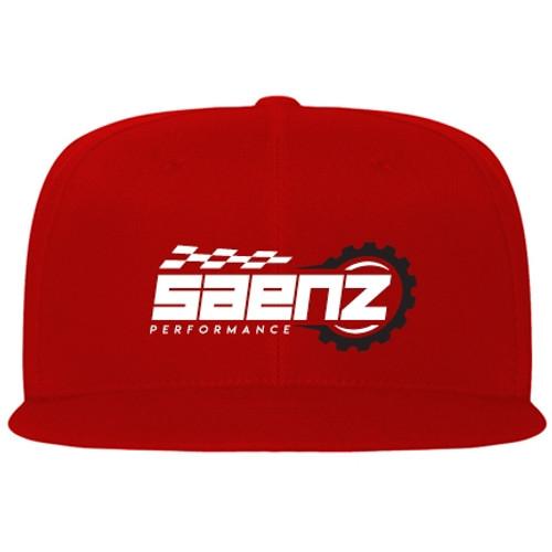 Saenz Performance Big Logo Red Hat