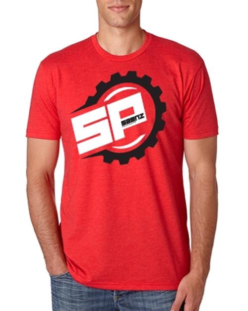 Saenz Performance Big Logo Red T-Shirt