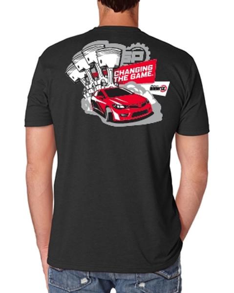 Saenz Performance Honda Logo Black T-Shirt