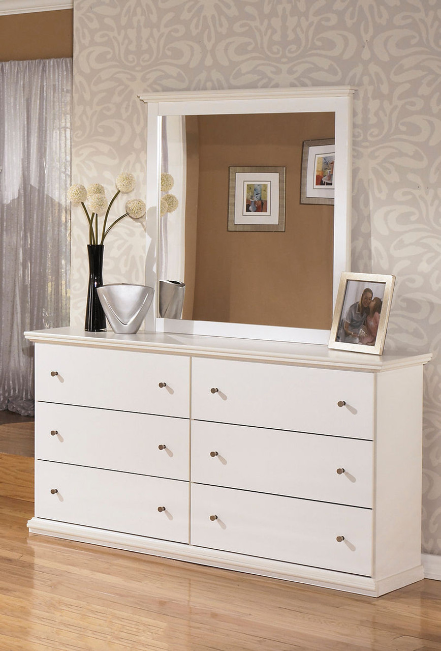 The Bostwick Shoals White Dresser Mirror Available At Gibson Mcdonald Serving Waycross Ga And Surrounding Areas
