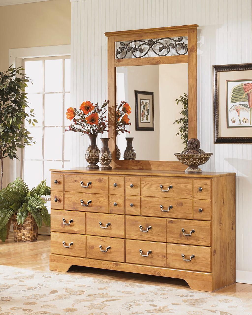 The Bittersweet Light Brown Dresser Mirror Available At Gibson Mcdonald Serving Waycross Ga And Surrounding Areas