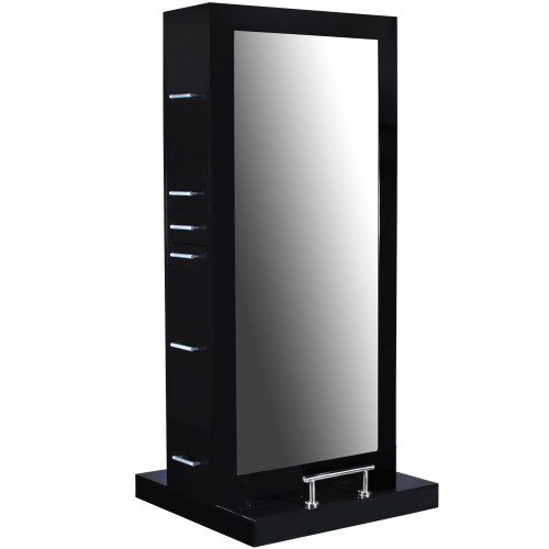 Maddox Double Sided Styling Station - Modern Black