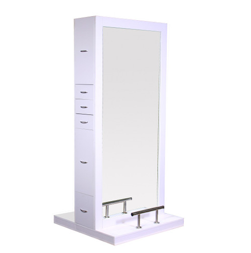 Maddox Double Sided Styling Station - White