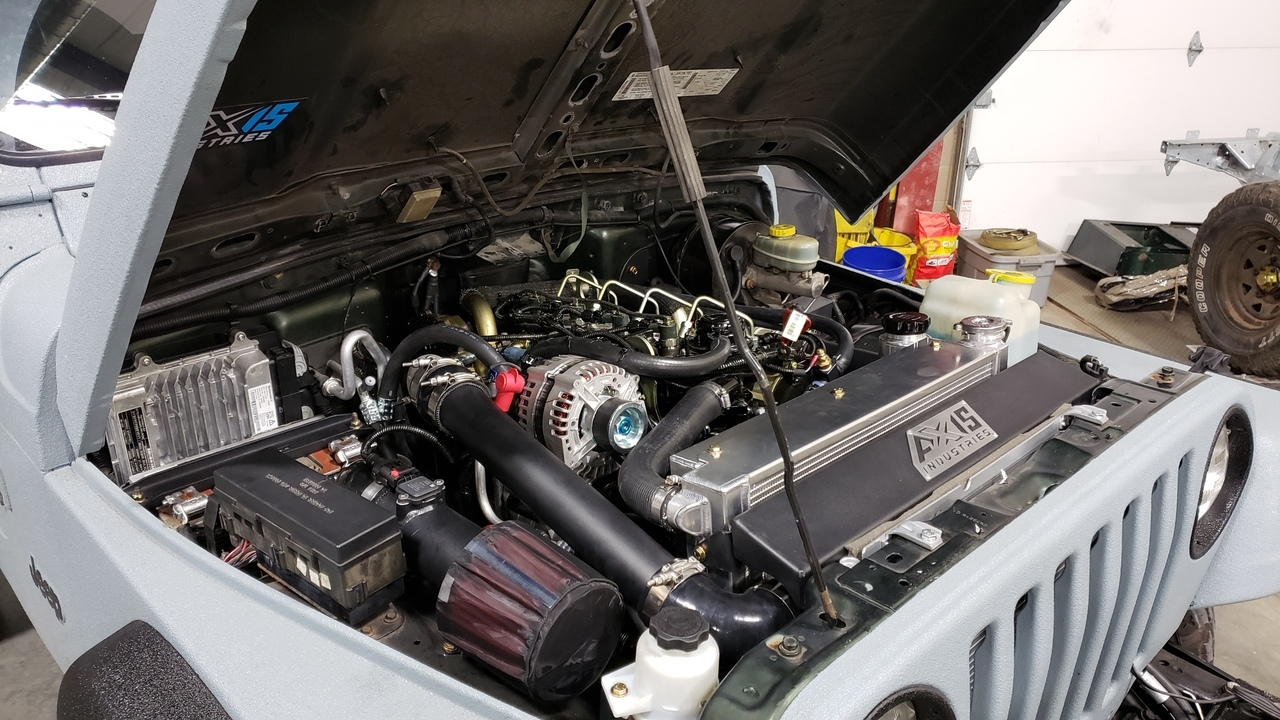 Jeep Tj R2 8 Conversion Kit Axis Industries Usa