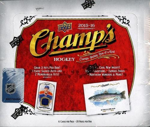 2015-16 Upper Deck Champs (Hobby) Hockey