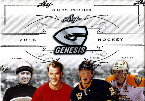 2016-17 Leaf Genesis (Hobby) Hockey