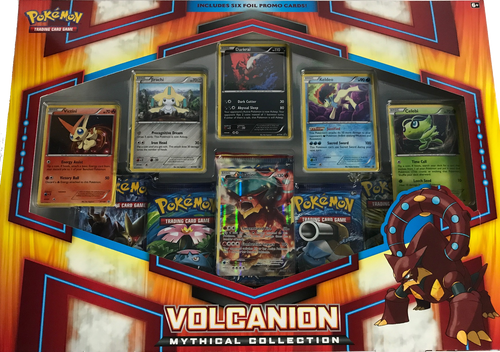 Volcanion - Mythical Collection Box Pokemon