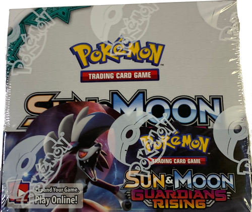 Sun & Moon SM2 Guardians Rising Booster Pokemon