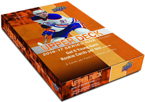 2016-17 Upper Deck Series 1 (Hobby) Hockey