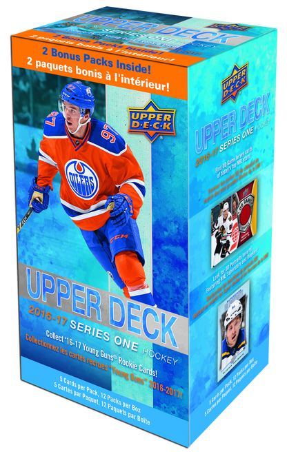 2016-17 Upper Deck Series 1 (Blaster) Hockey