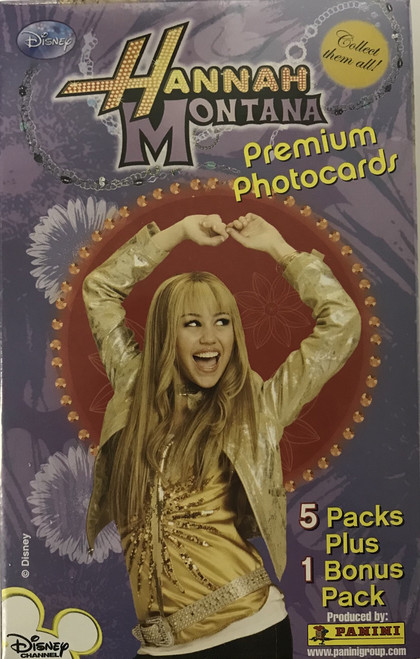 Panini Hannah Montana Photo (Blaster) Entertainment Box