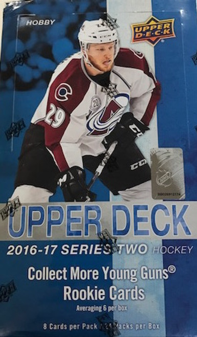 2016-17 Upper Deck Series 2 (Hobby) Hockey