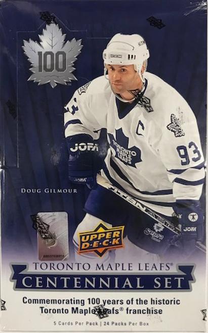 2017-18 Upper Deck Toronto Maple Leafs Centennial Set Hockey Hobby Box