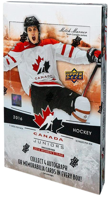 2016-17 Upper Deck Team Canada Juniors Hockey