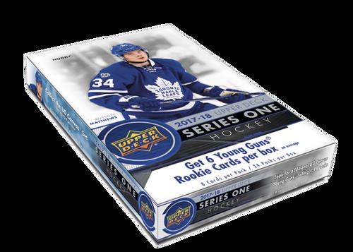 2017-18 Upper Deck Series 1 Hockey Hobby Box