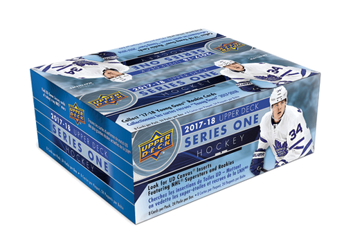 2017-18 Upper Deck Series 1 Hockey Retail Box