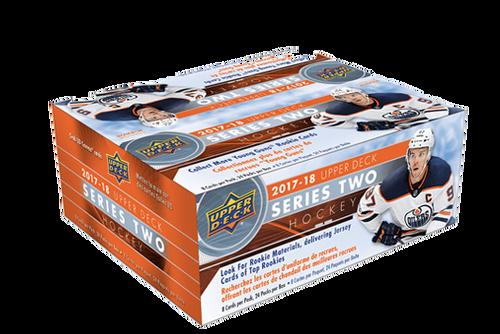 2017-18 Upper Deck Series 2 Hockey Retail Box