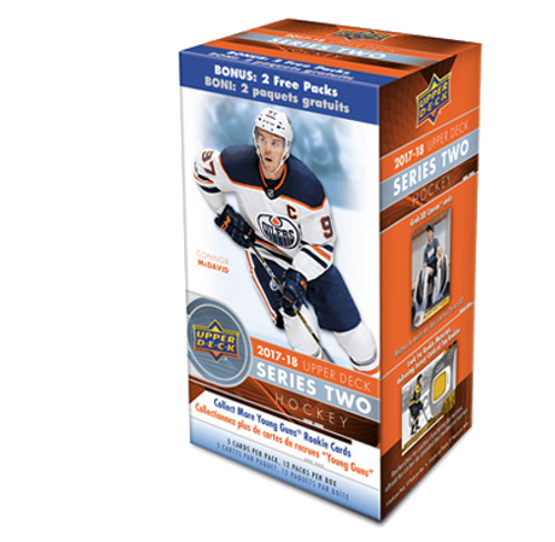 2017-18 Upper Deck Series 2 (Blasters) Hockey