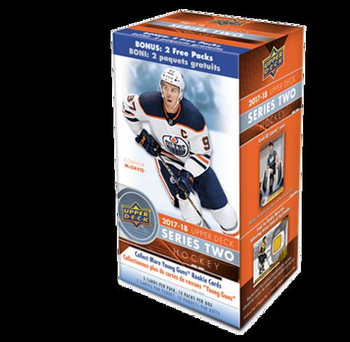 2017-18 Upper Deck Series 2 Hockey Blaster Box