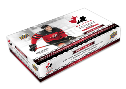 2017-18 Upper Deck Team Canada World Juniors Hockey