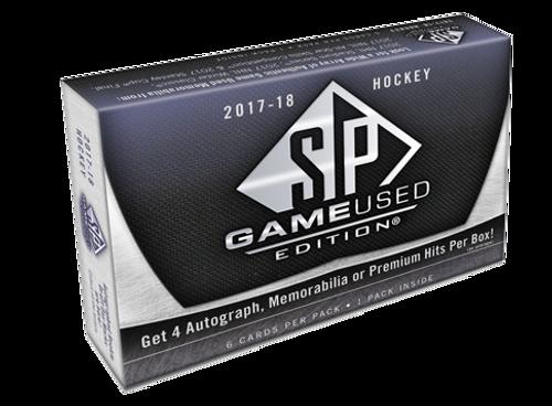 2017-18 Upper Deck SP Game Used Hockey