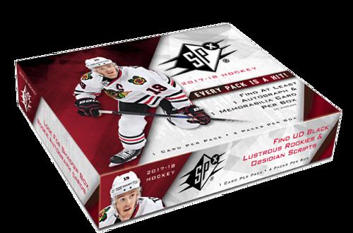 2017-18 Upper Deck SPX (Hobby) Hockey