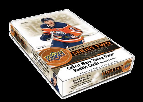 2017-18 Upper Deck Series 2 (Hobby) Hockey