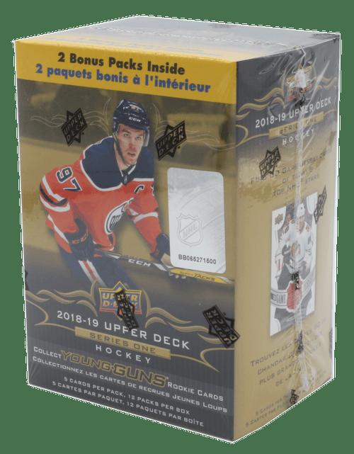2018-19 Upper Deck Series 1 Hockey Blaster Box