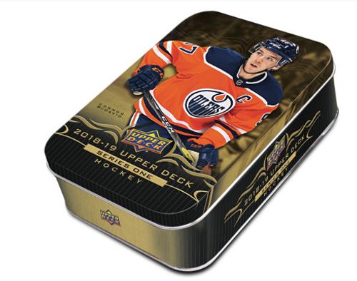 2018-19 Upper Deck Series 1 Hockey Tin Box
