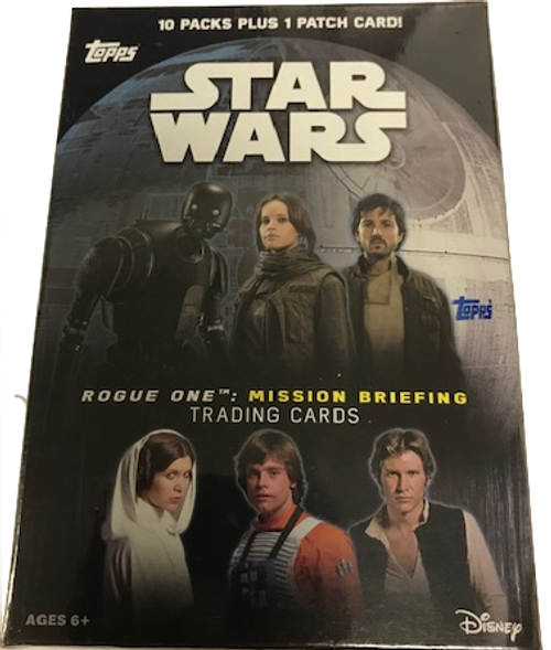 2016 Topps Star Wars Rogue One: Mission Briefing (Blaster)