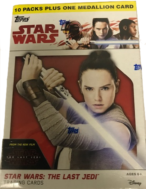 2017 Topps Star Wars The Last Jedi Blaster Box