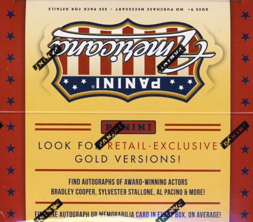 2015 Panini Americana (Retail) Entertainment Cards