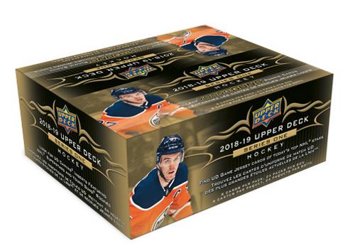 2018-19 Upper Deck Series 1 (Retail) Hockey