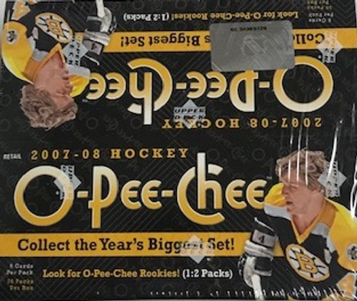 2007-08 Upper Deck O Pee Chee (Retail) Hockey