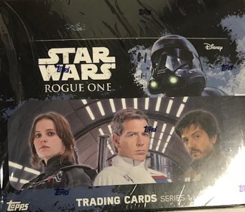 2016 Topps Star Wars Rogue One Series 1 Retail Box