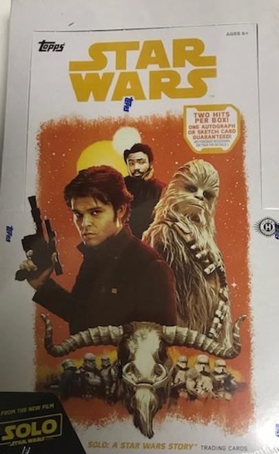 2018 Topps Star Wars Han Solo (Hobby)
