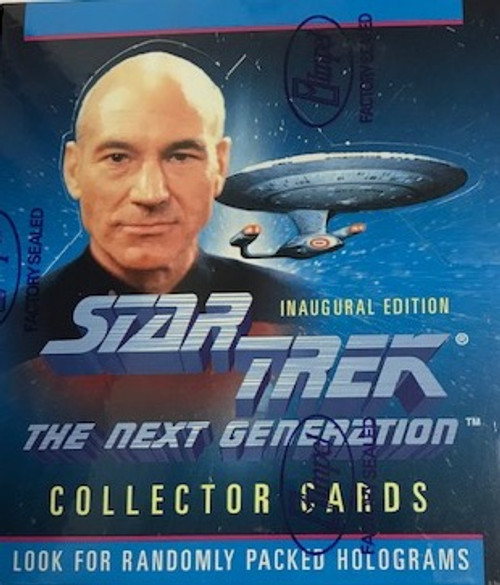 1992 Skybox Star Trek The Next Generation Inaugural Edition (Hobby)