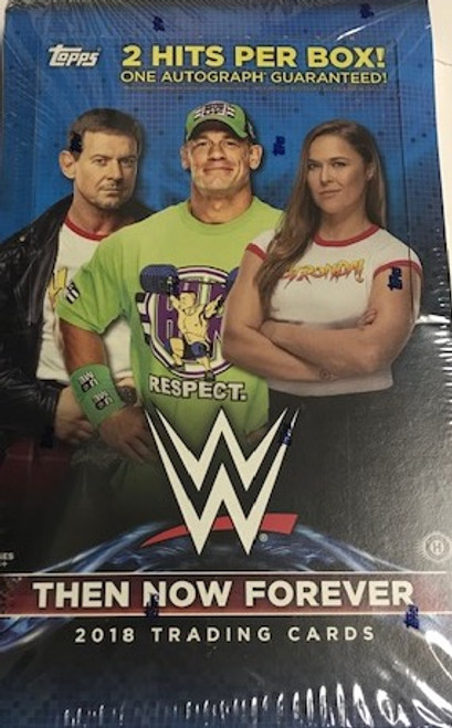 2018 Topps WWE Then Now Forever Wrestling (Hobby)