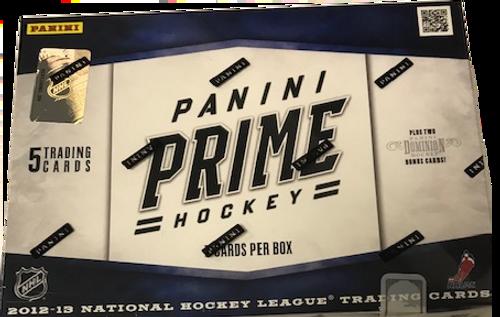 2012-13 Panini Prime (Hobby) Hockey