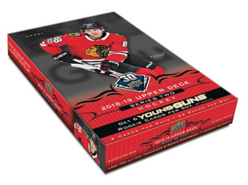 2018-19 Upper Deck Series 2 Hockey Hobby Box
