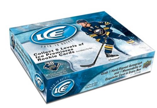 2018-19 Upper Deck Ice Hockey Hobby Box