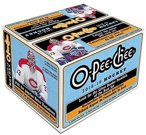 2018-19 Upper Deck O Pee Chee (Retail) 36 Pack Hockey