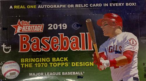 2019 Topps Heritage (Hobby) Baseball