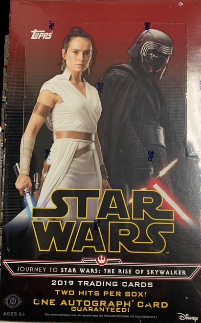 2019 Topps Star Wars Journey To The Rise of Skywalker Hobby Box